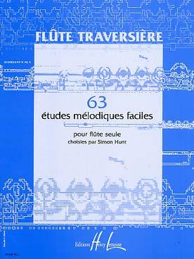 63 ETUDES MELODIQUES FACILES