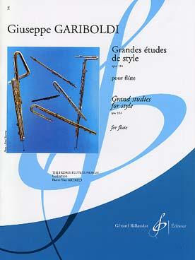 GRANDES ETUDES STYLE OP 134