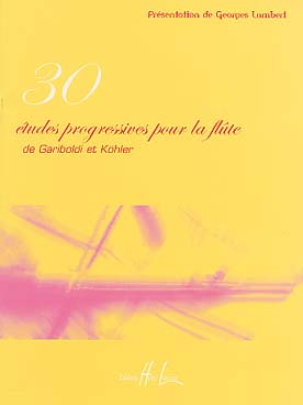 30 ETUDES PROGRESSIVES