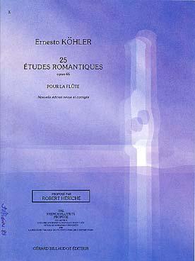 ETUDES ROMANTIQUES OP 66