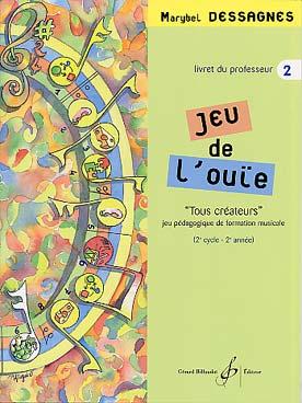 JEU DE L\'OUÏE VOL 2 PROF