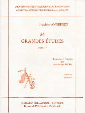 ANDERSEN 24 GRANDES ETUDES VOL 2