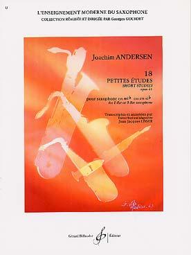 ANDERSEN 18 PETITES ETUDES
