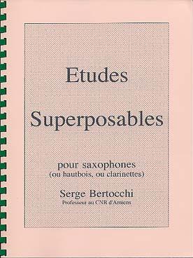 BERTOCCHI ETUDES SUPERPOSABLES