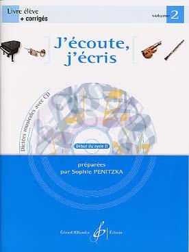J\'ECOUTE J\'ECRIS VOL 2