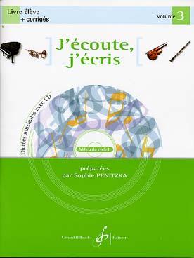 J\'ECOUTE J\'ECRIS VOL 3