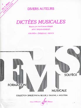 DICTEES MUSICALES VOL 4 ELEVE