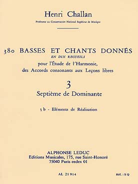 380 BASSES ET CHANTS DONNEES VOL 3B