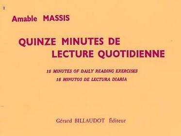 QUINZE MINUTES DE LECTURE QUOTIDIENNE