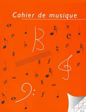 CAHIER DE MUSIQUE MIXTE 48 PAGES 12 PORTEES