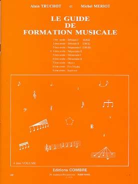 GUIDE DE FORMATION MUSICALE VOL 4