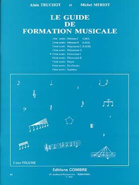 GUIDE DE FORMATION MUSICALE VOL 5