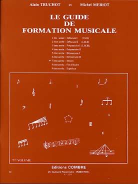 GUIDE DE FORMATION MUSICALE VOL 7