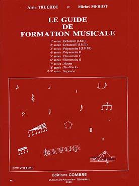 GUIDE DE FORMATION MUSICALE VOL 9