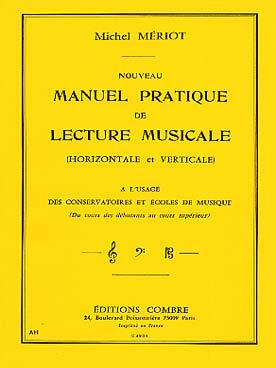NOUVEAU MANUEL PRATIQUE DE LECTURE MUSICALE