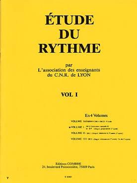 ETUDE DU RYTHME VOL 1