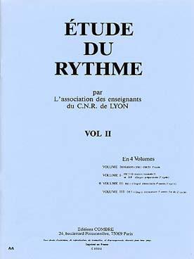 ETUDE DU RYTHME VOL 2