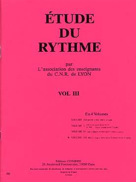 ETUDE DU RYTHME VOL 3