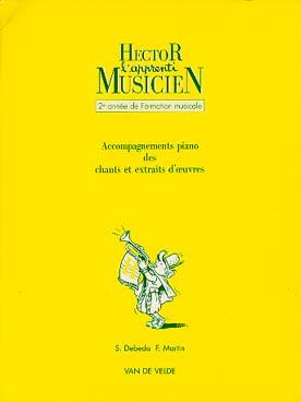 HECTOR APPRENTI MUSICIEN VOL 2 ACC PIANO
