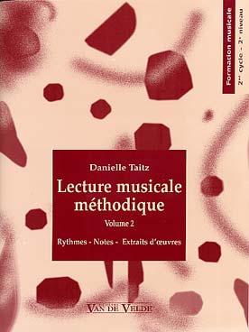LA LECTURE MUSICALE METHODIQUE VOL 2