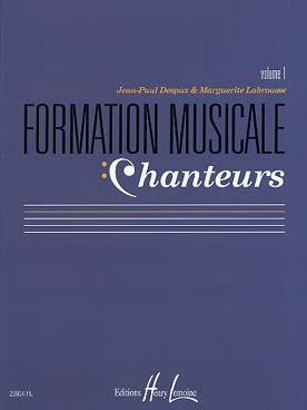 FORMATION MUSICALE CHANTEURS VOL 1