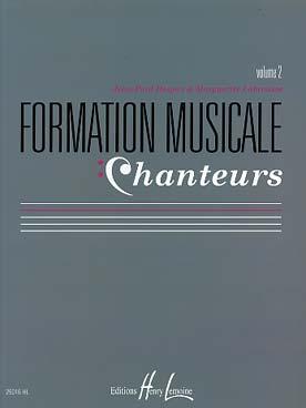 FORMATION MUSICALE CHANTEURS VOL 2