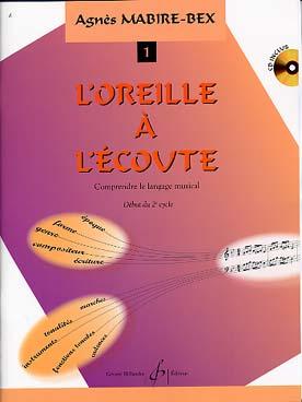 DE L\'OREILLE A L\'ECOUTE VOL 1