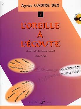DE L\'OREILLE A L\'ECOUTE VOL 3
