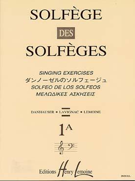 SOLFEGE DES SOLFEGES VOL 1A