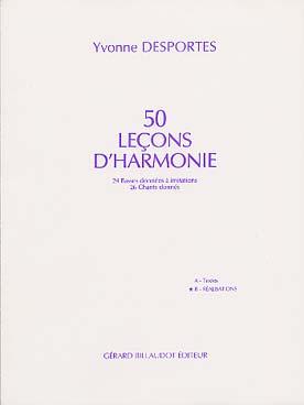 50 LECONS D\'HARMONIE VOL B REALISATION