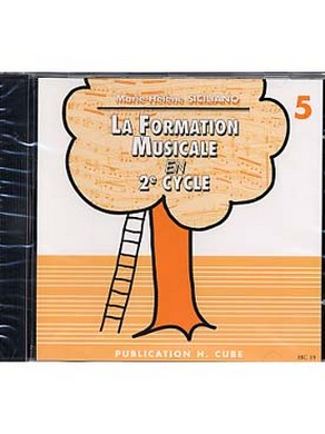 CD LA FORMATION MUSICALE EN 2ème CYCLE VOL 5