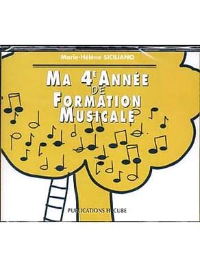 CD MA 4ème ANNEE DE FORMATION MUSICALE