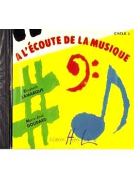 A L\'ECOUTE DE LA MUSIQUE FIN 1er CYCLE CD