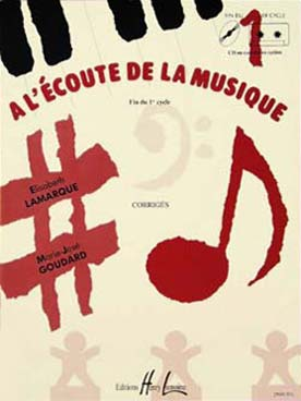A L\'ECOUTE DE LA MUSIQUE FIN 1er CYCLE CORRIGE