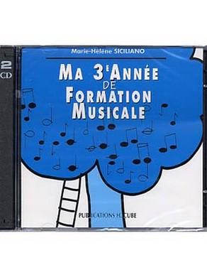 CD MA 3ème ANNEE DE FORMATION MUSICALE