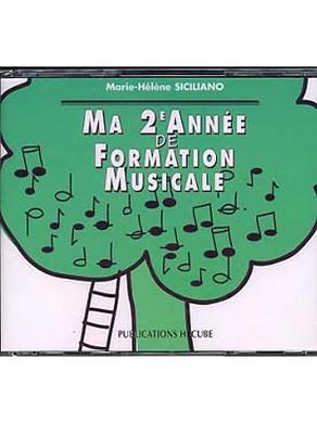 CD MA 2ème ANNEE DE FORMATION MUSICALE