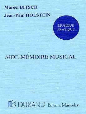 AIDE MEMOIRE MUSICAL