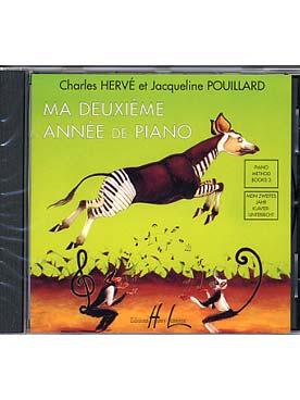 MA DEUXIEME ANNEE DE PIANO CD