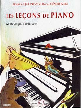 LES LECONS DE PIANO VOL 1