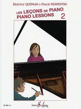 LES LECONS DE PIANO VOL 2