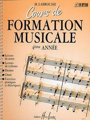 COURS DE FORMATION MUSICALE VOLUME 4