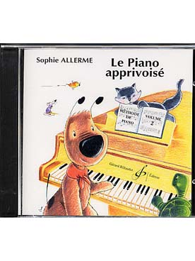 CD LE PIANO APPRIVOISE VOL 2