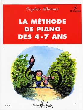 LA METHODE DE PIANO DES 4-7 ANS VOL 1