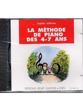 CD LA METHODE DE PIANO DES 4-7 ANS VOL 1