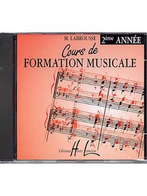 CD COURS DE FORMATION MUSICALE VOLUME 2