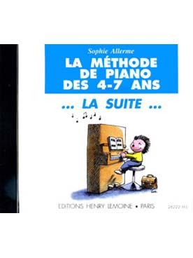 CD LA METHODE DE PIANO DES 4-7 ANS VOL 2