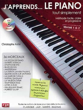 J\'APPRENDS LE PIANO TOUT SIMPLEMENT VOL 1