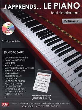 J\'APPRENDS LE PIANO TOUT SIMPLEMENT VOL 2