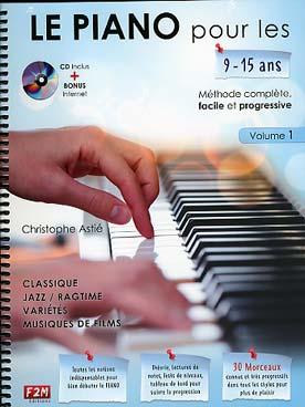 LE PIANO POUR LES 9-15 ans