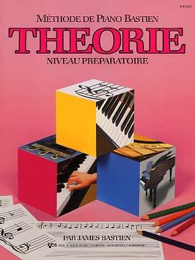 PIANO BASTIEN THEORIE PREPARATOIRE